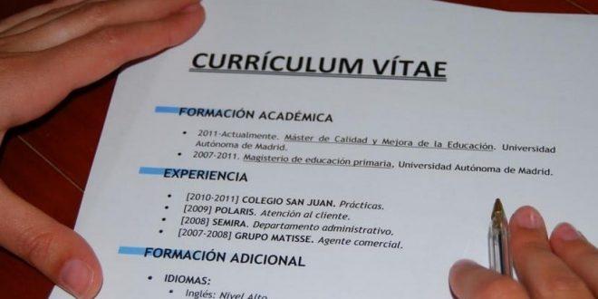 Como hacer un Curriculum Profesional