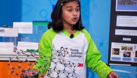 Gitanjali Rao nombrada como la mejor científica joven de Estados Unidos
