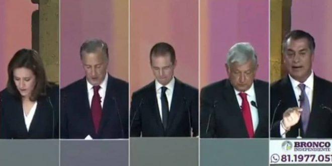 Resumen del primer debate presidencial