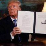 donal trump rompe acuerdo de armas nucleares