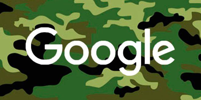 ¿Google se militariza?