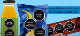 Nuevo Etiquetado Frontal por reforma en NOM 051