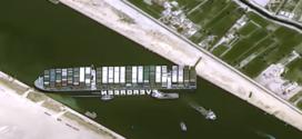 El barco atascado en el Canal de Suez puede haber causado más de 1 mil millones en daños